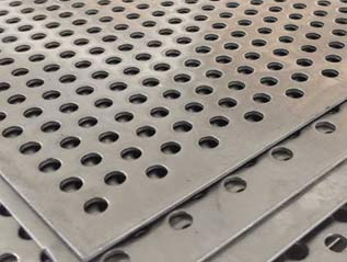 Stainless Steel Perforated Sheet manufacturers in grade 304